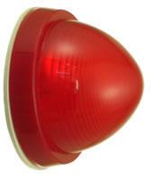 表示灯 (LED) (防水型) PL-R4-W-LED