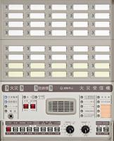 P型1級受信機 複合盤操作部 1PM3-□Y□・□Y□A 操作部