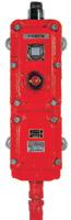 耐圧防爆型 P型2級発信機 (屋内用壁掛型・LED仕様) 2MG1 (LED仕様)
